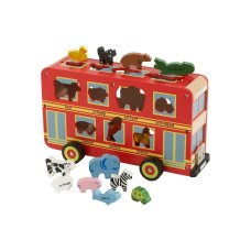 Primi Passi shaped stew animal bus