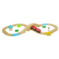 Plantoys train set 29-piece