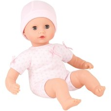 Götz Muffin to Dress, girl without hair, sleepy eyes, 33 cm
