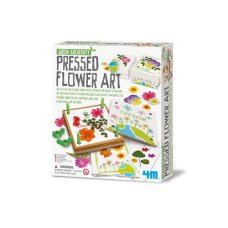 4M Kidz Lab Green Creativity Flower Press