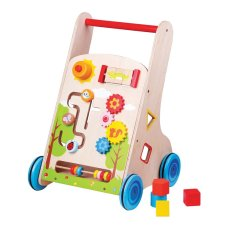 New Classic Toys Activities Push- Carriage 7 in 1