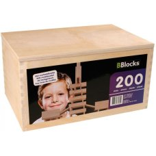 BBlocks 200 Pieces and Case