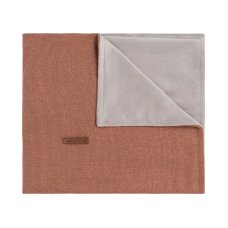 Babies Only Cot Blanket Copper-Honey Melange
