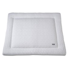 Baby's Only Boxcloth Cable Uni White (80x100)