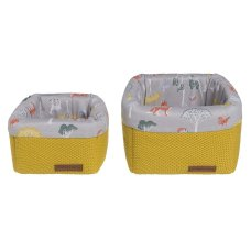 Baby's Only Changing Table Basket Cable Anthracite