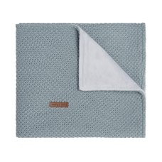 Babies Only Cot Blanket Soft Flavor Stonegreen