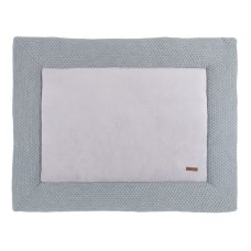 Baby's Only Boxcloth Sun Gray with Silver Gray (85x100)