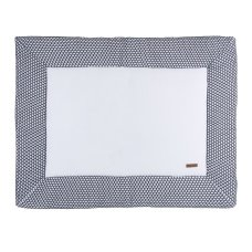 Baby's Only Boxcloth Sun White with Black (85x100)