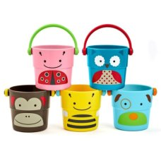 Skiphop Zoo stack and pour Buckets