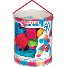 Bristle Blocks 50 Piece Bucket