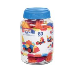 Bristle Blocks 80 Piece Ton