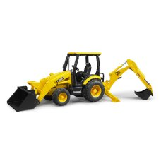 Bruder JCB tractor with front and rear loader