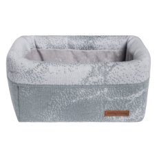 Babies Only Commodemandje Marble gray / silver gray