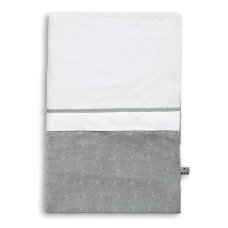Baby's Only Duvet cover 100x135 cm Cable Gray