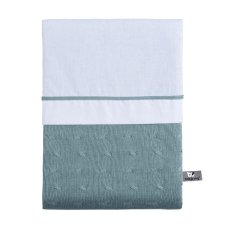 Baby's Only Duvet cover 100x135 cm Cable Stonegreen