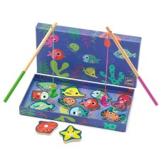 Djeco magnetic fishing game colorful fish