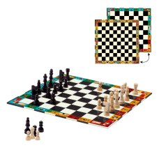 Djeco nomad chess and checkers
