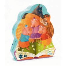 Djeco puzzle three little piglets