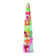 Djeco pile tower forest animals