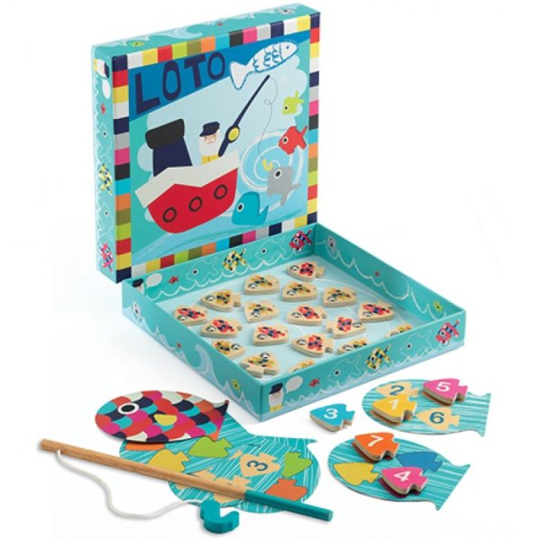 Djeco Magnetic Fish Game