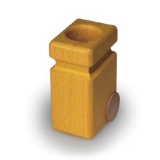Fagus Wooden Container Yellow