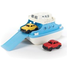 Green Toys Ferry with Cars