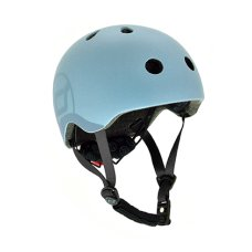 Scoot and Ride Helmet S Steel