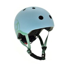 Scoot and Ride Helmet XS Steel