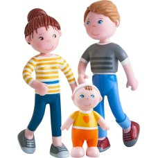 Haba Little Friends play set family