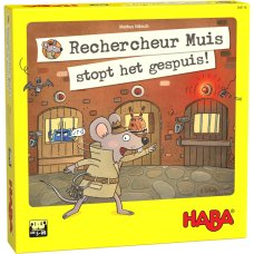 Haba game detective mouse stops the scum