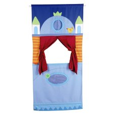Haba puppet box with door bar