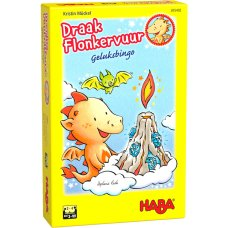 Haba game Lucky Bingo Dragon Sparkle fire