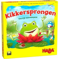 Haba Game Frog jumps