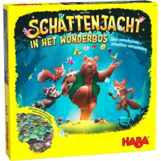 Haba game Treasure hunt in the Wonderbos