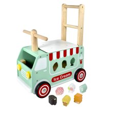 I'm Toy Walker Ice cream truck