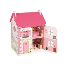 Janod Dollhouse Mademoiselle Large Light Pink