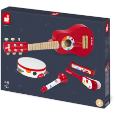 Janod musical instruments Confetti red