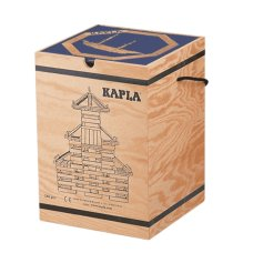 Kapla Coffin 280 Pieces With Book Blue