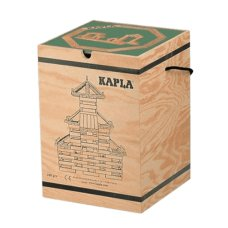 Kapla Coffin 280 Pieces With Book Green