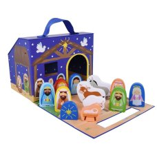 Sevi Speelkoffer Nativity scene