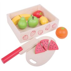 Bigjigs fruit box with chopping board