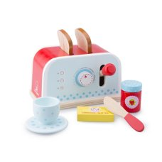 New Classic Toys Toaster Red with Blue