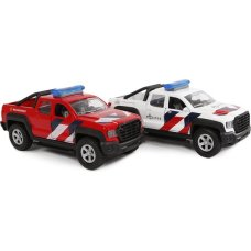 Kids Globe 2 cars emergency services