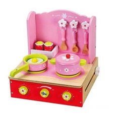 Playwood Foldable Pink Cooker