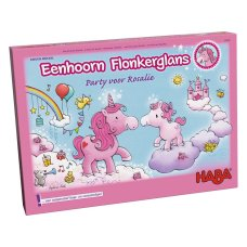 Haba game Unicorn Glitter Party for Rosalie
