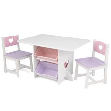 KidKraft Table and chair set Hearts