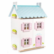 2nd chance - Le Toy Van Dollhouse Bleu Bird with Furniture