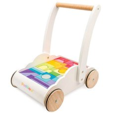 Le toy of Blocks cart Rainbow Cloud