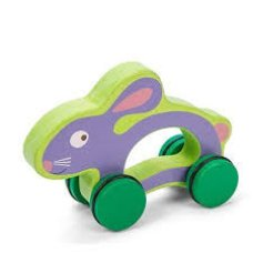 Le Toy Of Petilou Rabbit on Wheels