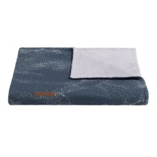 Babies Only Cot Blanket Teddy Marble granit / gray